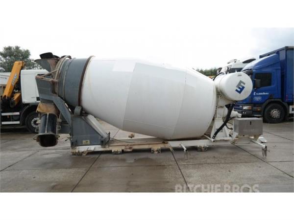 Frumecar Concrete mixer