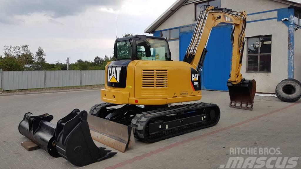 Caterpillar 308 E 2 CR CAT 2014R 3000 MTG JCB BOBCAT