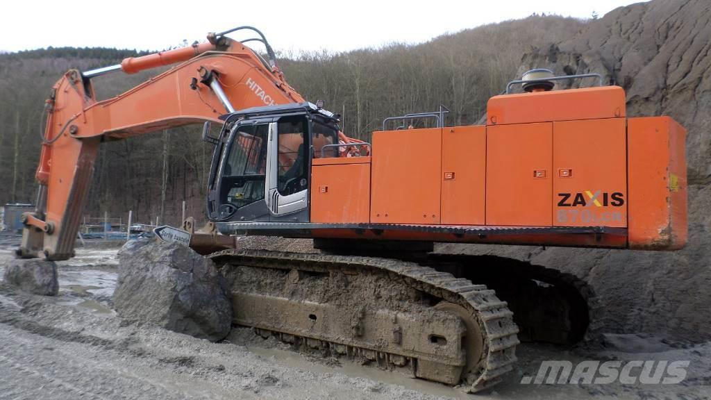 Hitachi ZAXIS 870 LCR-3 RECONDITIONED