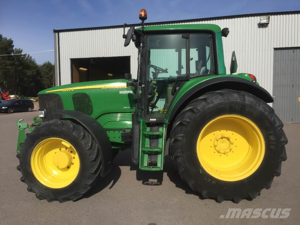 used john deere 6920s tractors year 2003 price 46 480 for sale mascus usa. Black Bedroom Furniture Sets. Home Design Ideas
