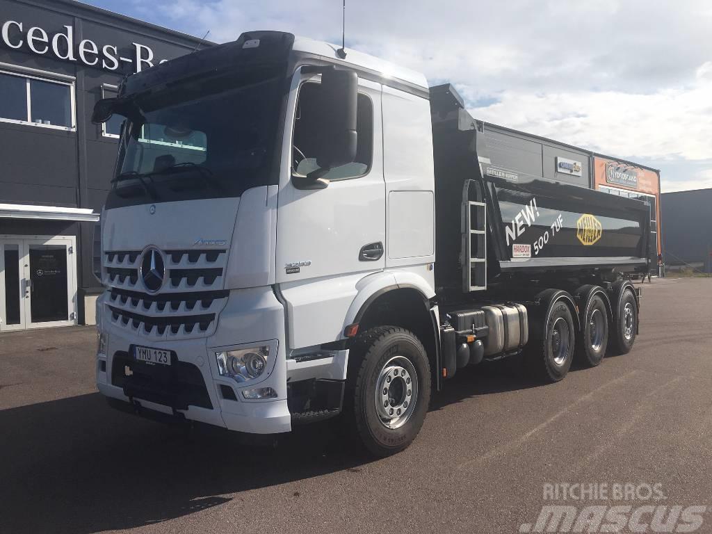 Mercedes-Benz Arocs 3253 Meiller Hardox 500Tuf_tipper trucks