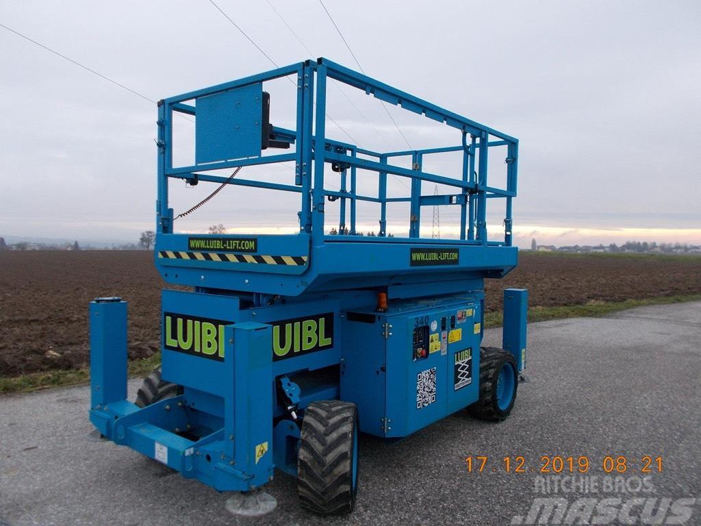 Genie GS 2669RT, 10m scissor lift diesel