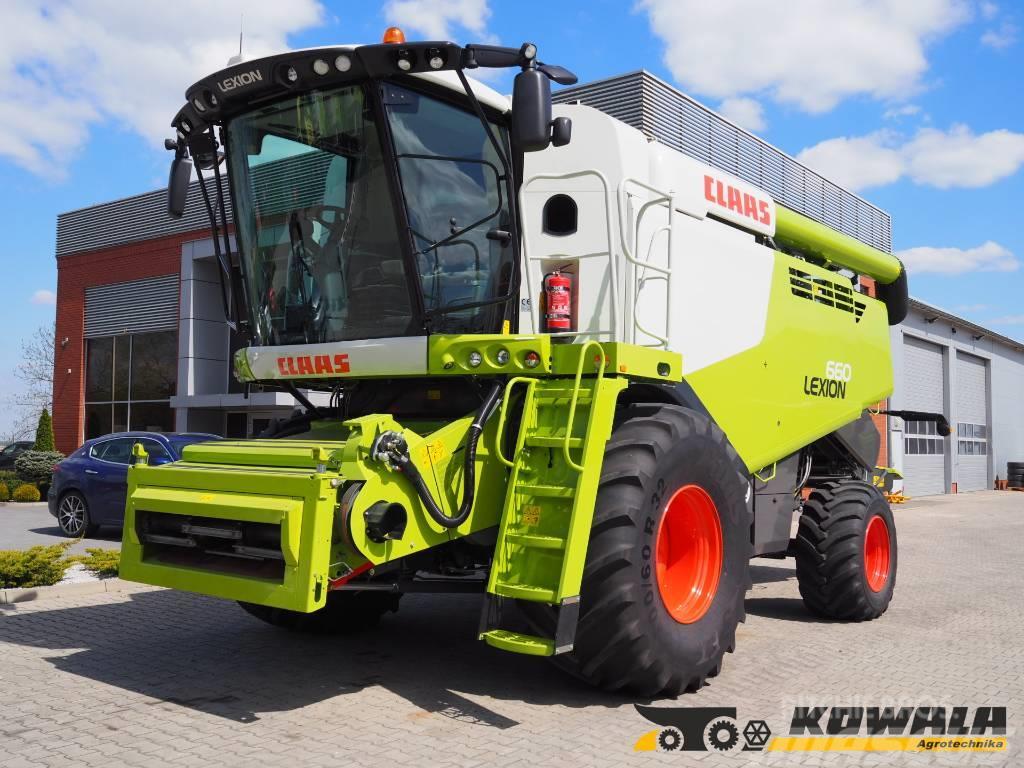 CLAAS Lexion 660 + V770
