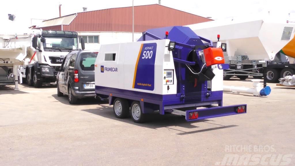 Frumecar Asphalt Recycler 500