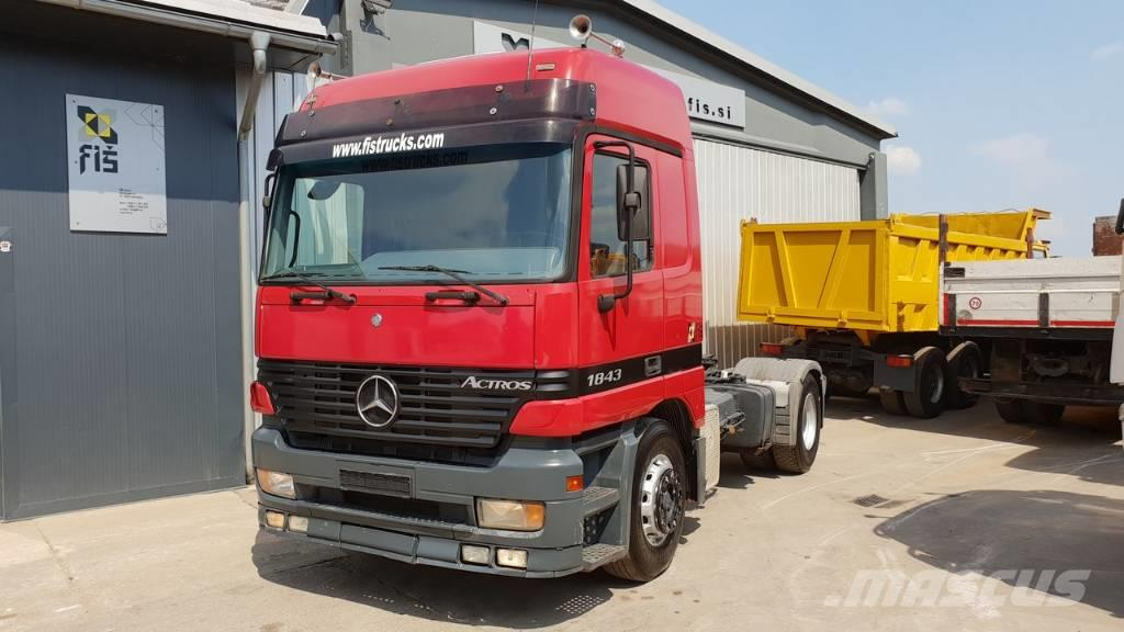 Mercedes-Benz ACTROS 1843 4X2 tractor unit - tipp. hydr.