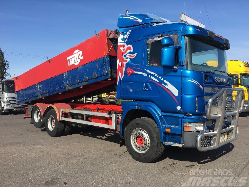 Scania R144 6x2