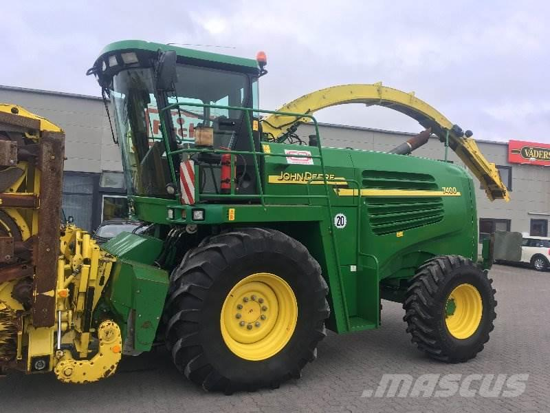 used john deere 7400 allrad kemper 360 forage harvesters. Black Bedroom Furniture Sets. Home Design Ideas