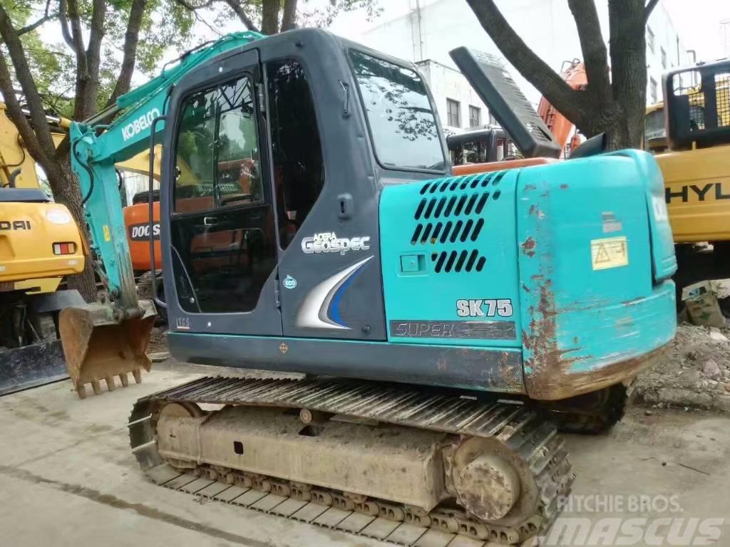 Kobelco SK 75 excavator