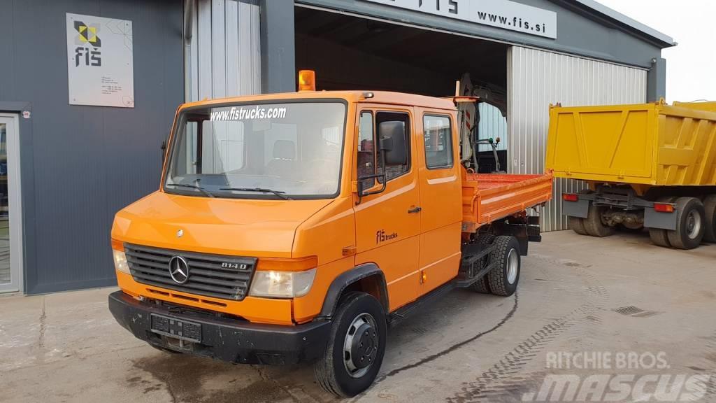 Mercedes-Benz 814 D double cab + tipper