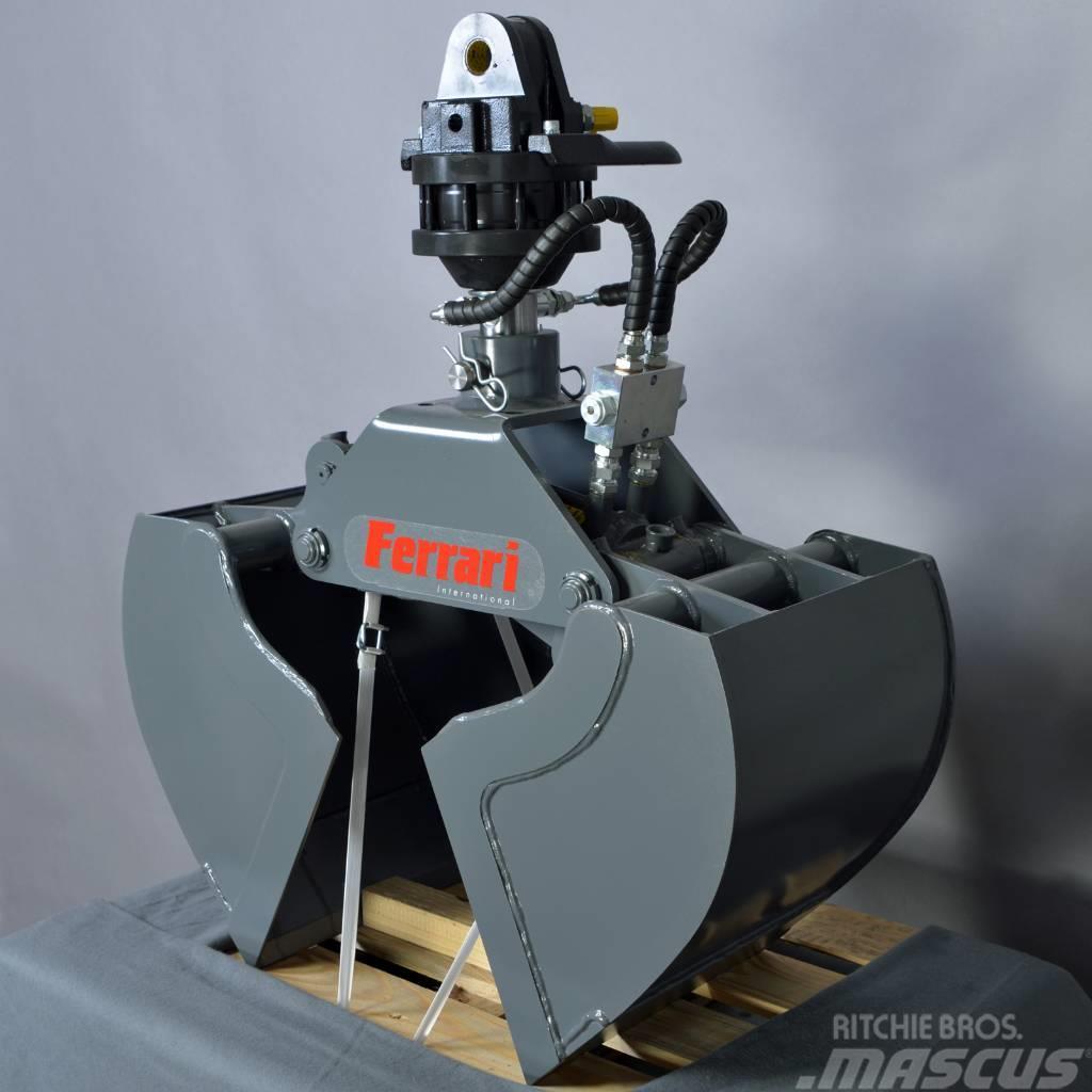 Ferrari Zweischalengreifer FCB 50 + Rotator FR 35