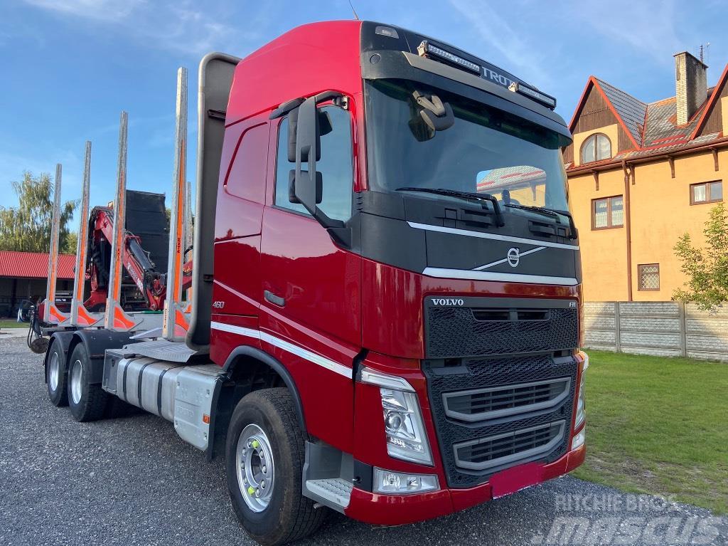 Volvo FH460 6x4euro6 LOGLIFT