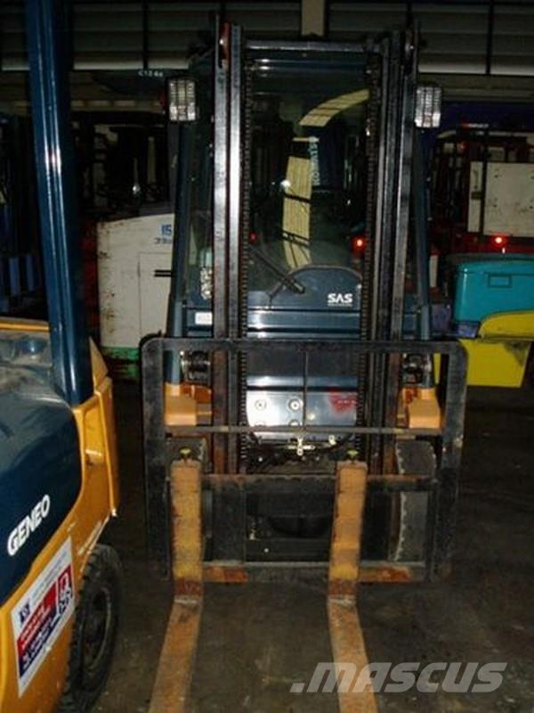 Used Toyota 02 7fg10 Forklift Trucks Others Year 2001 For Sale Mascus Usa