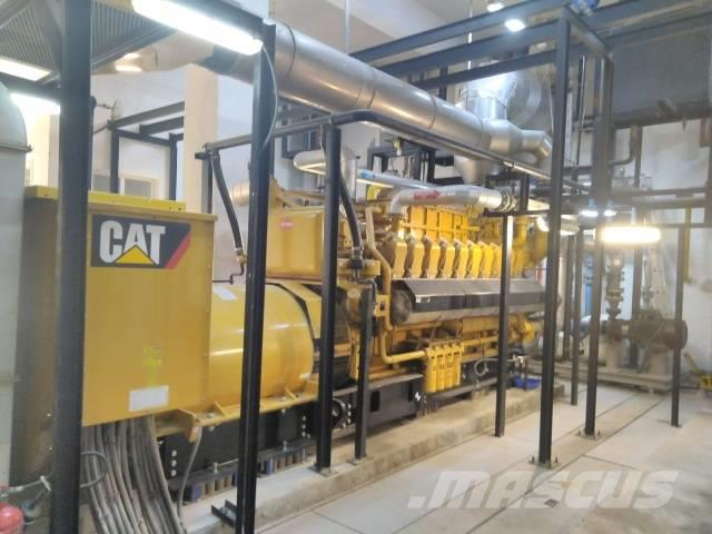 Caterpillar 3520 & 3516 Gas Generators Containerized Great Dea