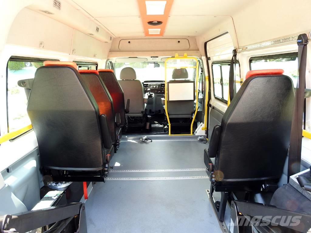 used ford transit bus 6 seats with lift school bus year 2010 price 9 499 for sale mascus usa. Black Bedroom Furniture Sets. Home Design Ideas