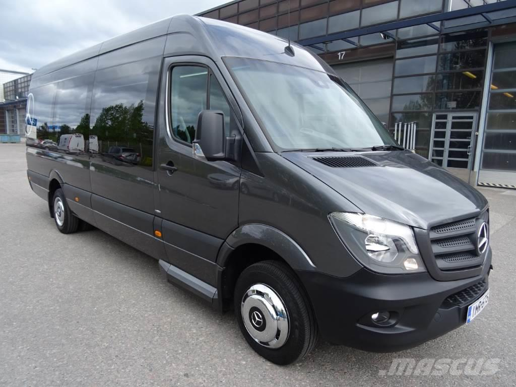 Used mercedes benz sprinter 516cdi 16 1 paikkaa for Price of mercedes benz sprinter