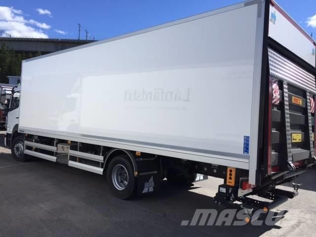 Used mercedes benz atego 1523l skab skap box trucks year for Mercedes benz box truck