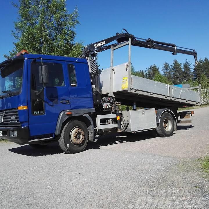 Volvo FL 610 Hiab 060-2 10v tark. kippi lava aj.125tkm!!