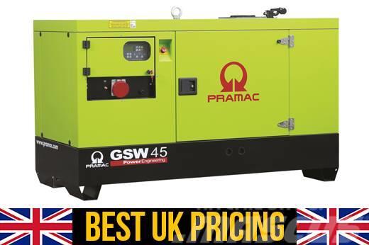 Pramac GSW45 45kVA UK Genset / Home Generator (Key Start)