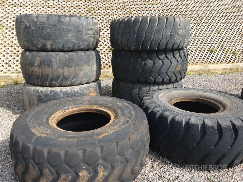 Michelin 23,5-25 opona słaba
