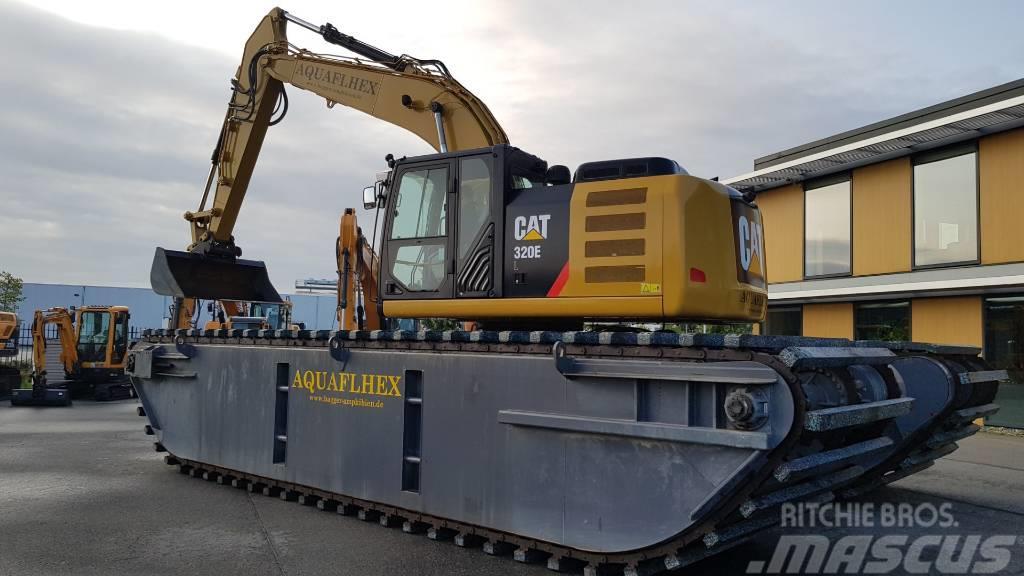Caterpillar 320 E Amfibic Excavator - Euro Rental possible!