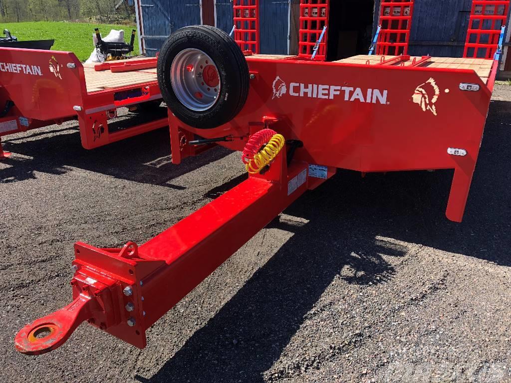 Chieftain 3-axl Lastbilskärra maskintransport