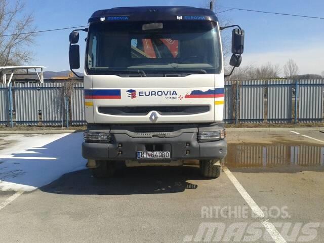 Renault KERAX 420.26 P6x4 +FASSI 210