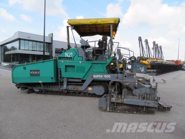 Used Vögele Super 1900 asphalt pavers Year: 2001 Price ...