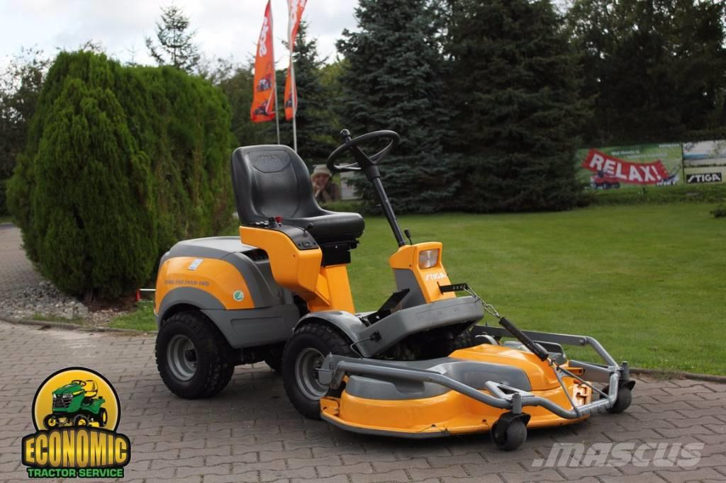 used stiga park pro svan honda 4wd riding mowers year. Black Bedroom Furniture Sets. Home Design Ideas