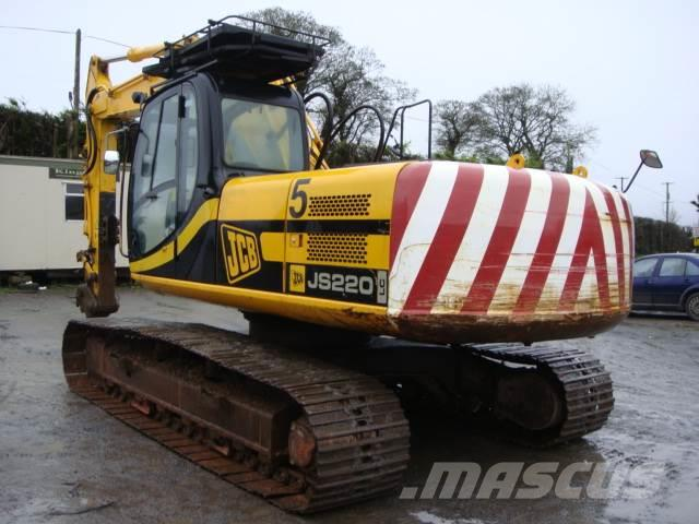 Jcb Js220lc Dismantling For Parts Only Js 220 Lc
