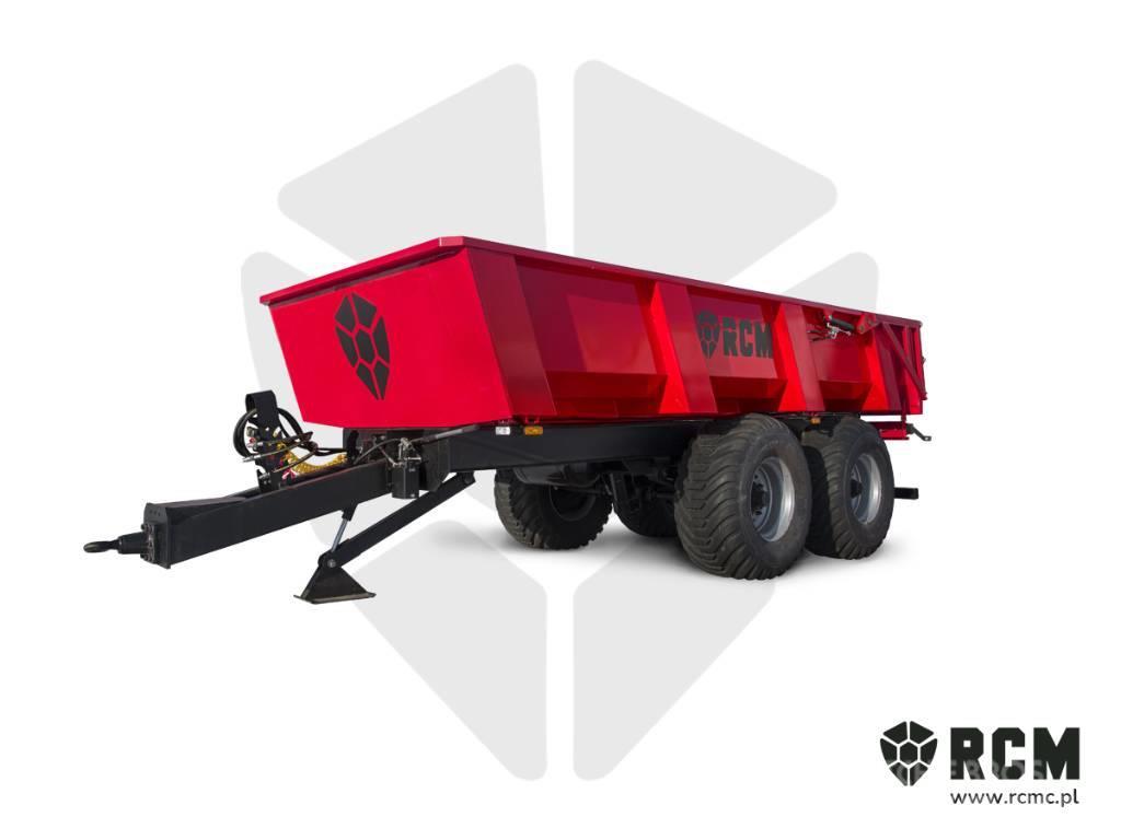 RCM NEW Construction/shell trailer / tandem - RCM