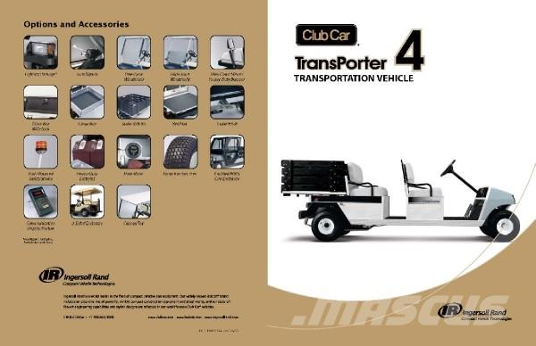 Club Car Transporter 4 Electric IQ system