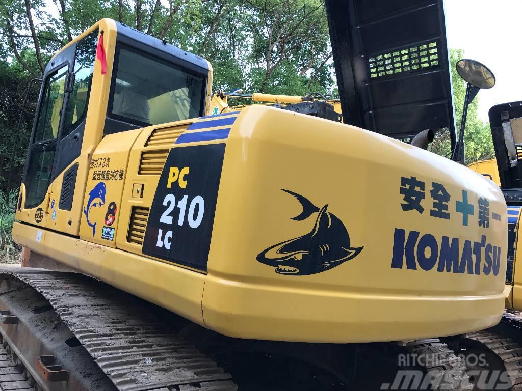 Komatsu komatsu pc210 crawler excavator