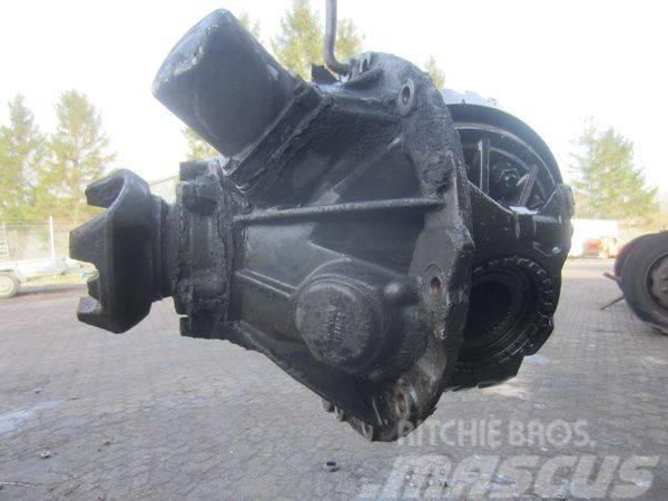 Scania R660 - 4.88, Hjulaxlar