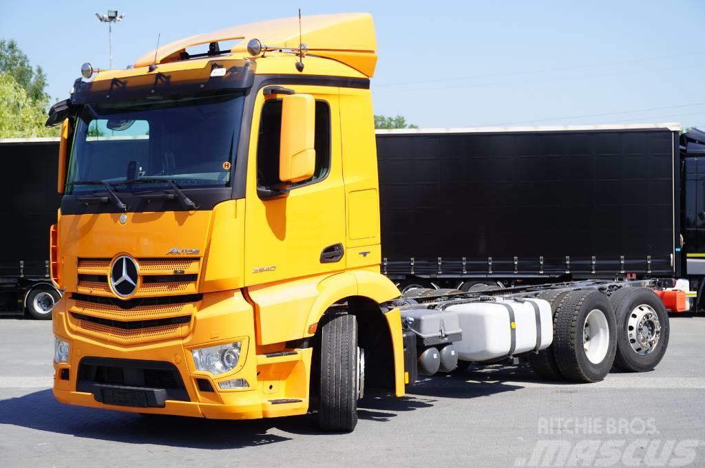Mercedes-Benz Antos 2540 , E6, 6x2 ,steer/lift axle  , retarder