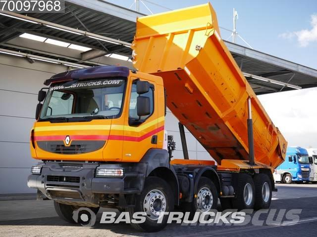 Renault Kerax 450 8X4 Manual DXi Full-steel