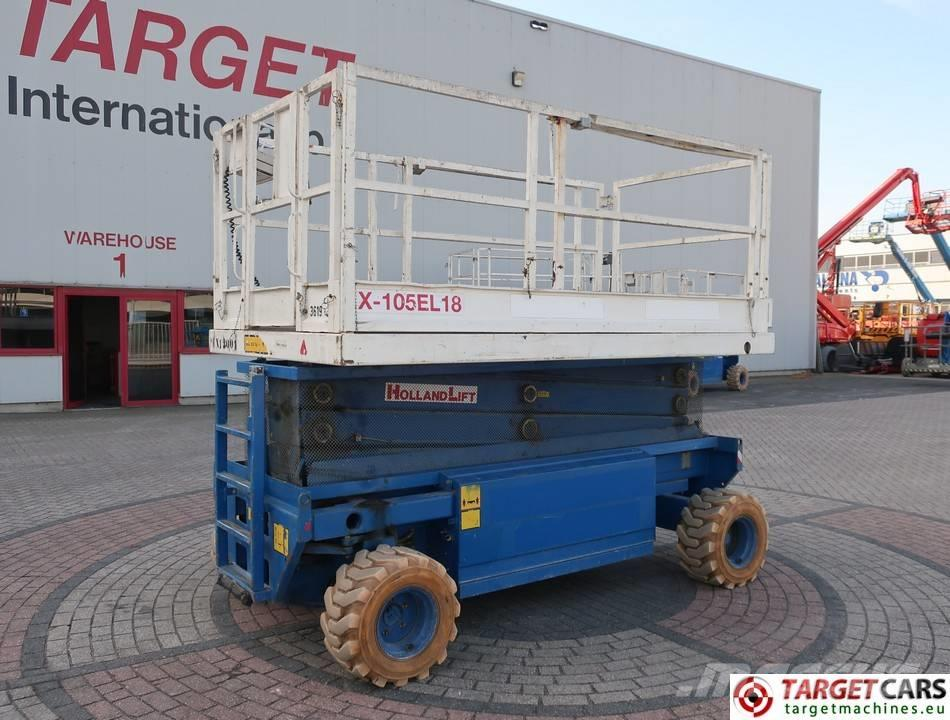 Holland Lift Monostar X-105EL18 Electric Scissor Lift 1250cm
