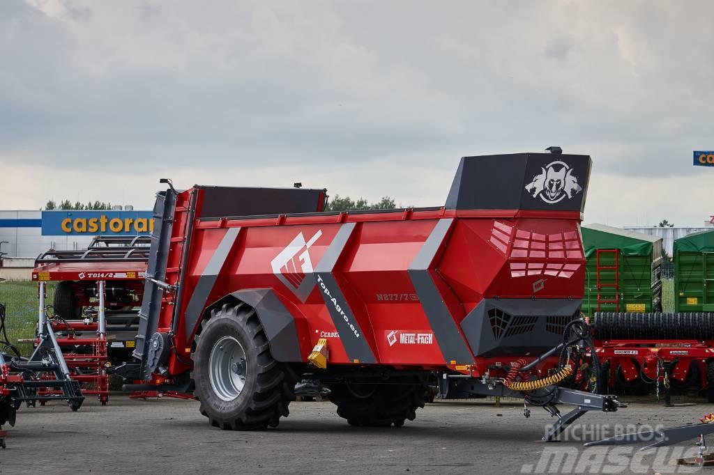 Metal-Fach N277/7 CERBERUS 18T manure spreader