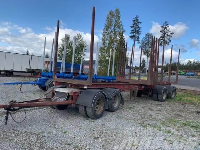 Närko puutavaraperävaunu 4 aks