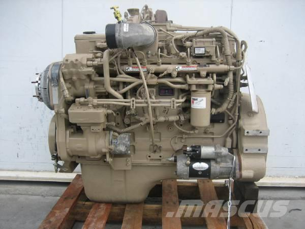 Cummins ISL 400, Motorer