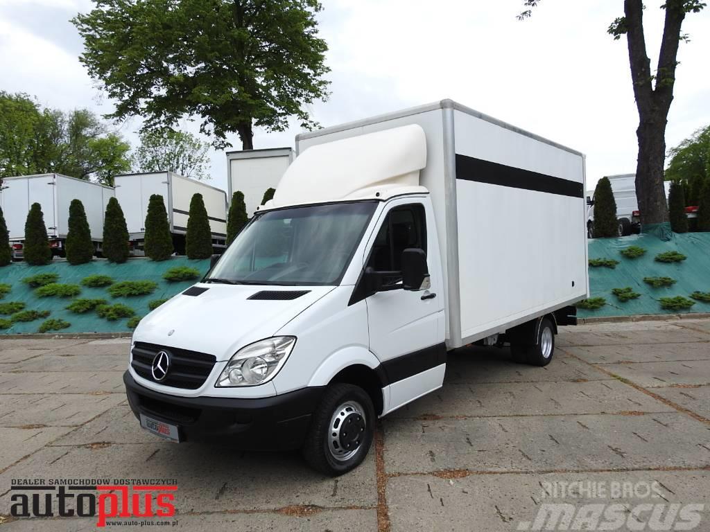 mercedes benz sprinter 515 2 2 cdi kontener 150km kastenwagen gebraucht kaufen und verkaufen bei. Black Bedroom Furniture Sets. Home Design Ideas