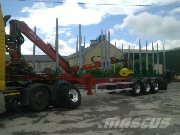 Robinson TImber Trailer, 2014, Timmertrailer