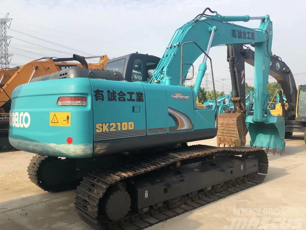 Kobelco SK210-8 履带挖掘机