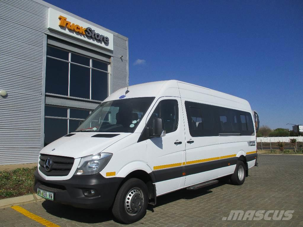 mercedes benz sprinter 515cdi 23 seater bus lieferwagen. Black Bedroom Furniture Sets. Home Design Ideas