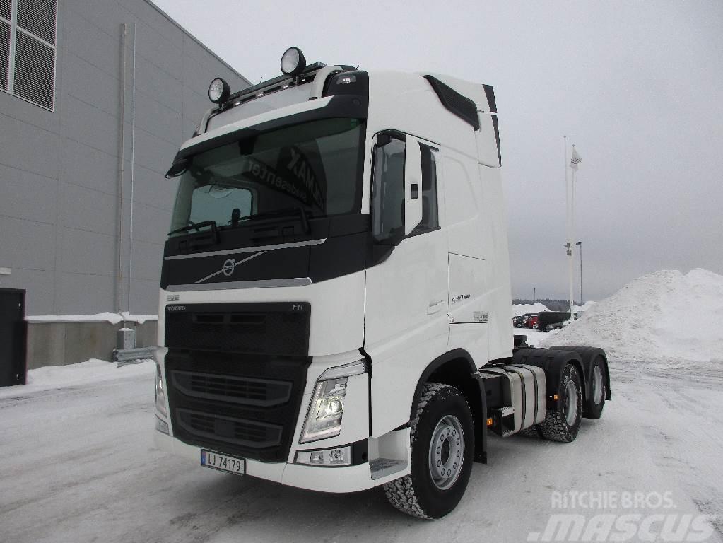 Volvo FH540 6x4 - Forvogn tippsemi