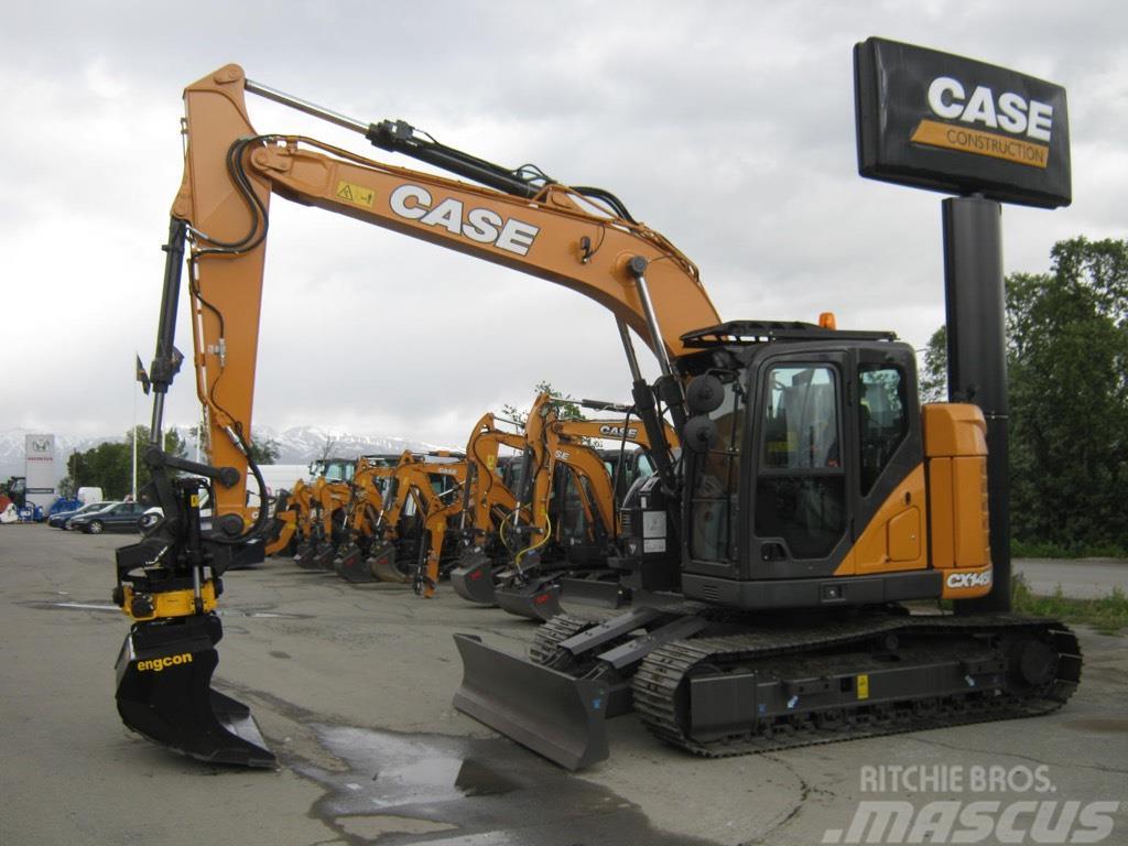 CASE CX145DSR