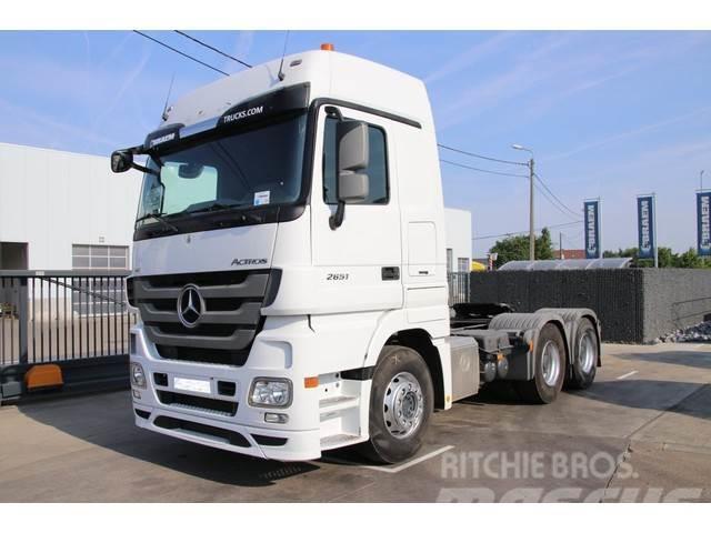 Mercedes-Benz ACTROS 2651 LS V8+VOITH+BIG AXLES