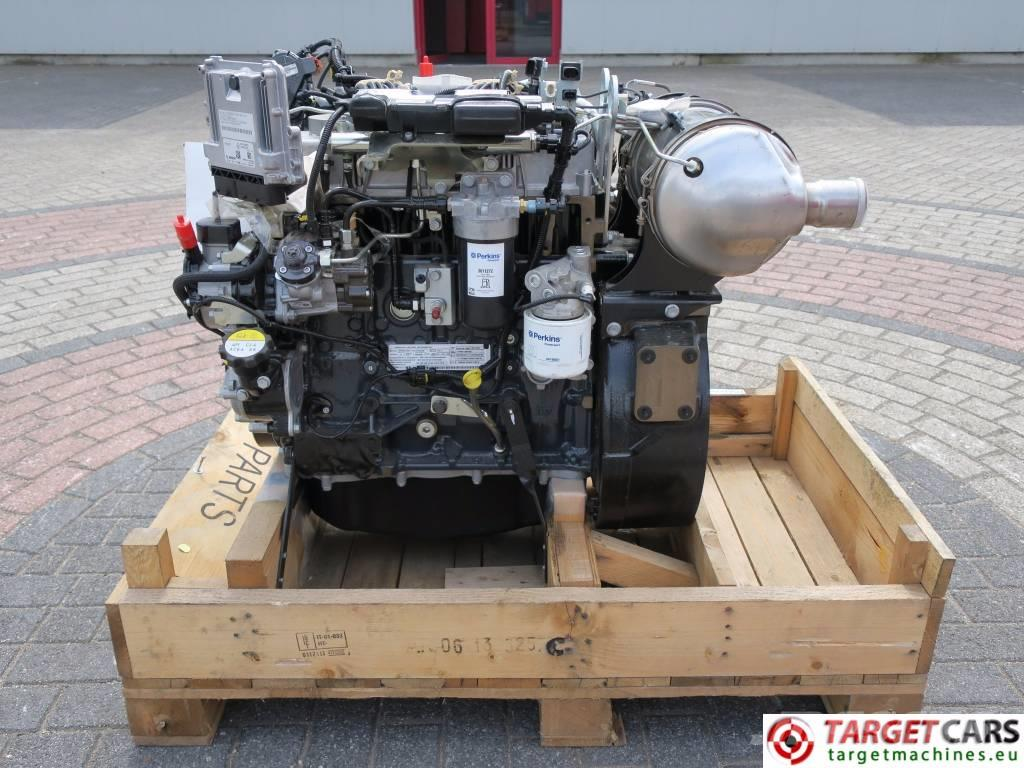Used Perkins 854e E34ta Diesel Engine 66kw 2200rpm 4 Cyl