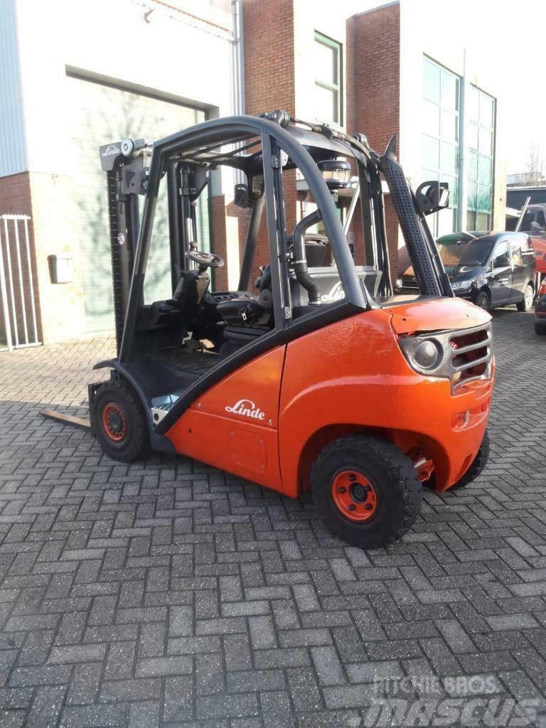 Linde diesel heftruck h25d
