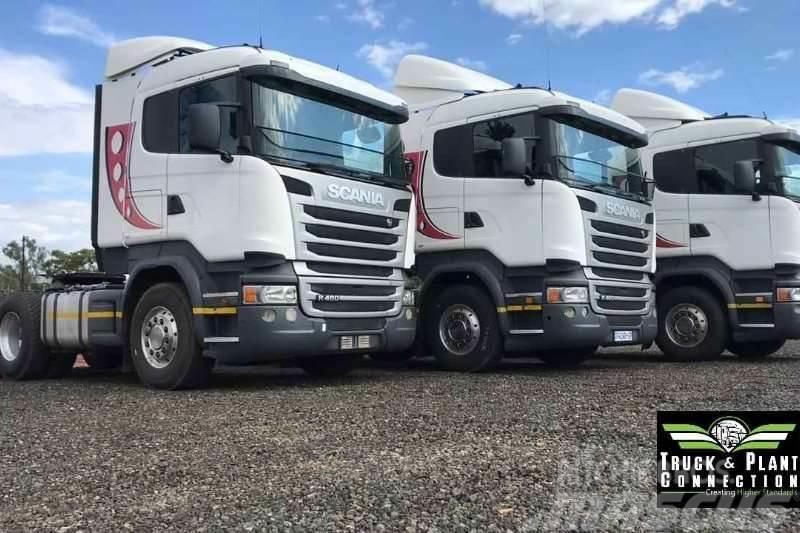 Scania 3 x Scania R460's