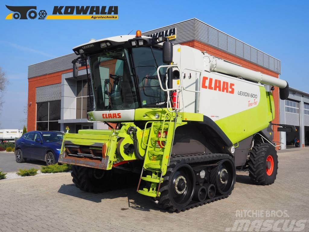 CLAAS Lexion 600TT (4WD) + V1050